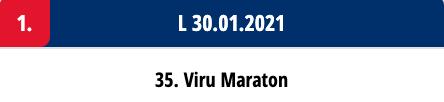 Skiwax Europe määrdesoovitused:  35. Viru Maraton