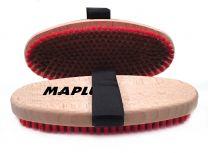 Maplus Soft brass flat brush, oval