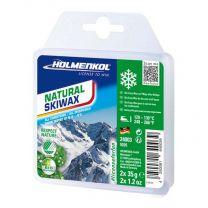 Holmenkol Natural Skiwax, 2x35g